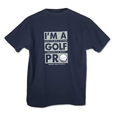 "Bogey Pro Golf Men's Read Closer ""Golf Pro"" T-Shirt"
