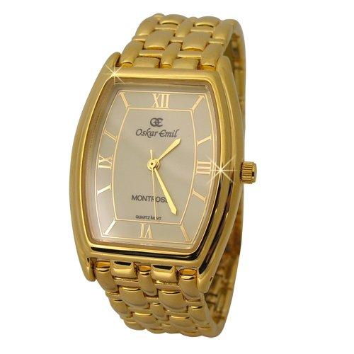 Oskar Emil  Montrose Gold Elegant Gent's Dress Watch