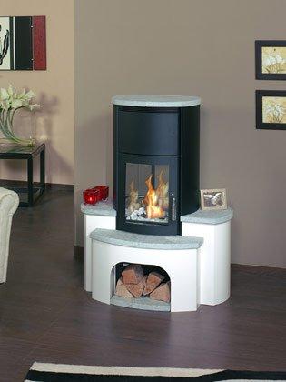 hark ethanolkamin kaminofen asco 8 naturstein sockel wei spar baumarkt. Black Bedroom Furniture Sets. Home Design Ideas