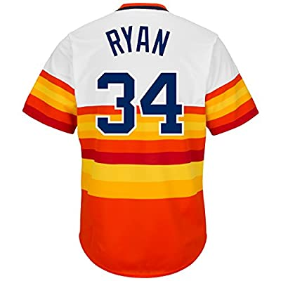 Majestic Athletic Men's Houston Astros Nolan Ryan Cooperstown Jersey