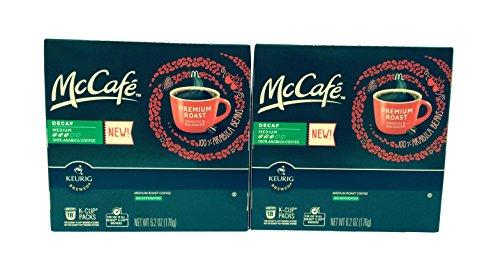 McCafé Decaf Premium Roast Coffee K-Cup Packs, 6.2 oz - 18 count (2-pack) = 36 total count (Keurig Mccafe Decaf compare prices)