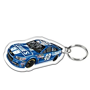Jimmie Johnson Official NASCAR 2 Key Ring Keychain by WinCraft