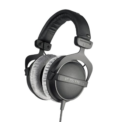 Beyerdynamic Dt-770-M-80 Closed Headphone For Drummers And Monitoring With Extreme Isolation Against Ambient Noise