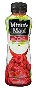 Minute Maid Cranberry Apple Raspberry Juice 24/15.2oz