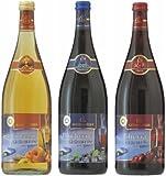 カトレンブルガー アップルシナモン&ブルーベリー&チェリー グリューワイン3本セット!(ドイツ・ホットワイン)8.5度 1000ml×3