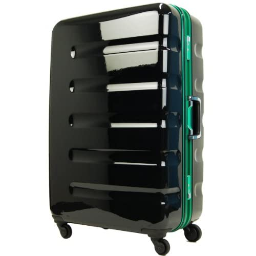 T&S legend walker レジェンドウォーカー スーツケース TSAロック搭載 ポリカーボネート100% キャリーケース 小型 SSサイズ 機内持込サイズ 6016-47 (ブラック・グリーン)