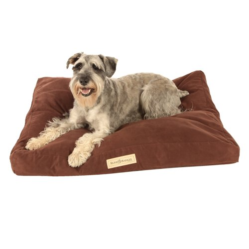Brown Suede Dog Bed