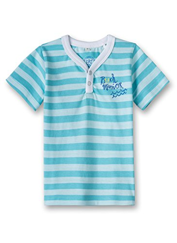 Sanetta -  Maglietta  - Maniche corte  - Bebè maschietto caribian blue 50177 18 mesi