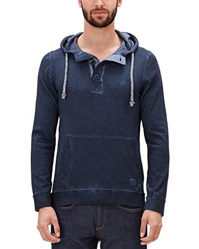 s.Oliver Kapuzensweatshirt blau