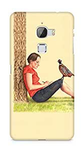 Amez designer printed 3d premium high quality back case cover for LeEco Letv Le Max (Draw me pretty)