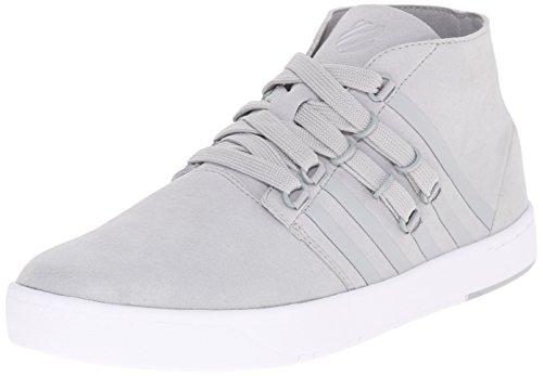 K-Swiss Men's D R Cinch Chukka Fashion Sneaker, Highrise/White, 11.5 M US