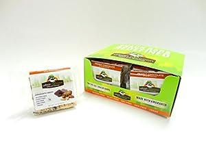 Peanut Chocolate Snack Bars (Pack of 12)