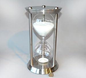 Reloj de Arena en Acero Inoxidable 60 Minutos 1 Hora JUMBO por LUPI - Solar Radiometer und vieles weitere mehr!