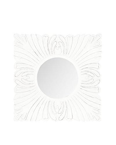 Safavieh Acanthus Mirror, White