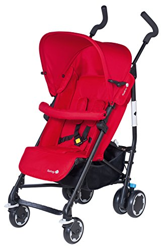 Safety 1st 12608852 Compa'city Passeggino, Rosso/Plain Red