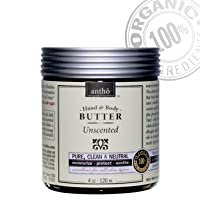 Organic Body Butter - Mother, Baby - Unscented (4fl.oz) by Antho Organic