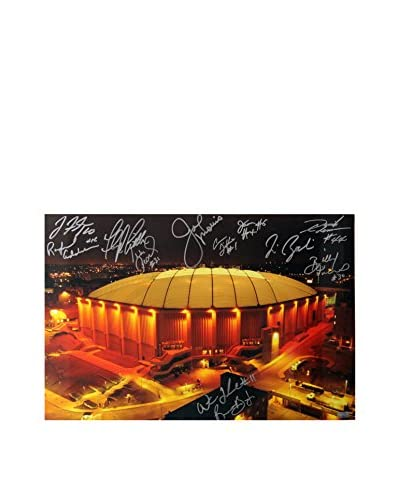 Steiner Sports Syracuse Carrier Dome Multi Signed Horizontal Photo