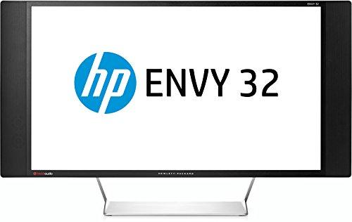 HP Envy 32 (G8Z02AA) 81,28 cm (32 Zoll) Media Monitor (HDMI, USB, 7ms Reaktionszeit, 4K Quad HD, MHL, DisplayPort, Beats Audio) schwarz