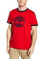 Timberland Camiseta Manga Corta Tfo Ss Tree Logo Rng (Rojo)