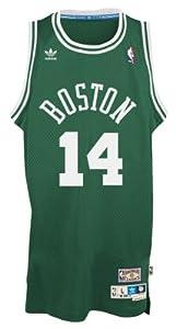 Bob Cousy Boston Celtics Adidas NBA Throwback Swingman Jersey - Green by adidas