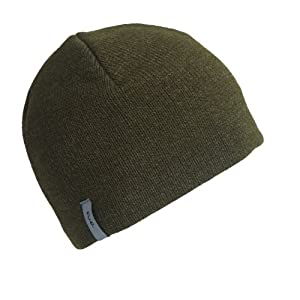 FU-R Headwear - Men's N.E. Solid Ragg, Fleece Lined Ragg Wool Beanie, Oregano, XL