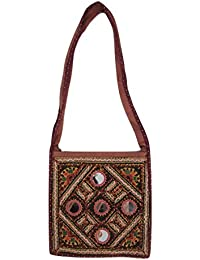 Sling Bag Mirror And Embroidery Work Gujarati Bags For Women By Store Utsav Fashion
