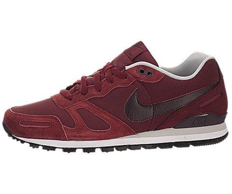 Nike Air Waffle Trainer Leather, Unisex-Erwachsene Sneakers, Rot (Tm Rd/Dp Brgndy-Pr Pltnm-White), 47.5