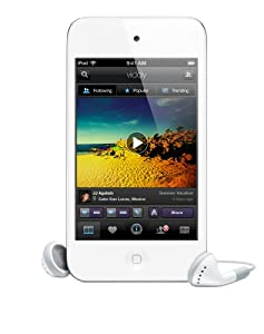 Apple iPod touch 4G MP3-Player (Facetime, HD Video, Retina Display) 64 GB, weiß