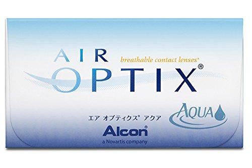 Ciba Vision Air Optix Aqua Monatslinsen weich, 6 Stück / BC 8.6 mm / DIA 14.2 / -1.75 Dioptrien