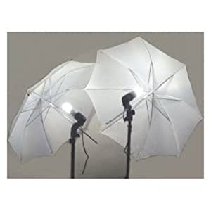 2 Photography Studio Continuous Lighting Kits with two free Day-Light CFL Lights and Umbrellas for Product,Portrait and Video Shoot