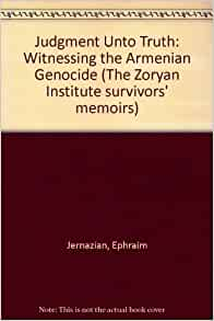 The armenian genocide books