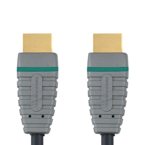 Bandridge 2m 100 Percent Oxygen Free Copper 24K Gold Connector High Speed HDMI Cable