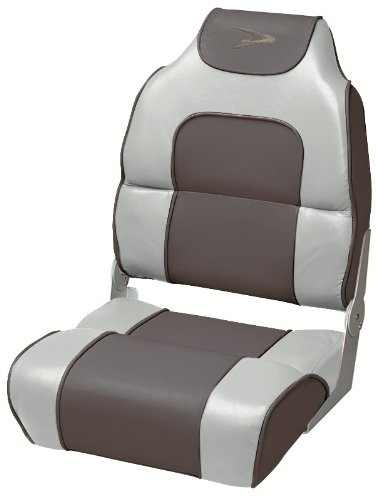 Wise High Back Boat Seat with Logo