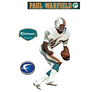 NFL Miami Dolphins Paul Warfield Junior Wall Graphic by Fathead