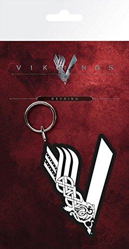 Vikings - Logo Portachiave (15 x 7cm)