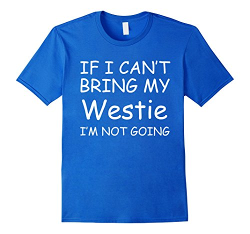 Men's Westie T-Shirt, I love my Westie Medium Royal Blue