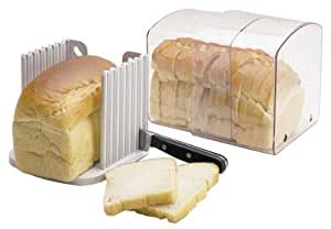Kitchen Craft Expanding Stay Fresh Acrylic Bread Keeper