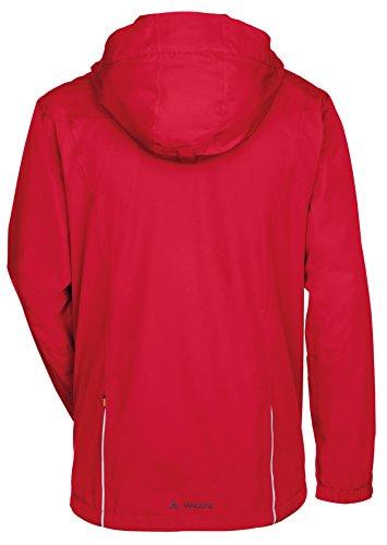 VAUDE Herren Jacke Escape Bike Light Jacket, Red, XL, 05018 -