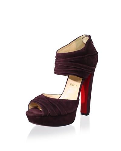 Christian Louboutin Women's Ruched Platform Sandal