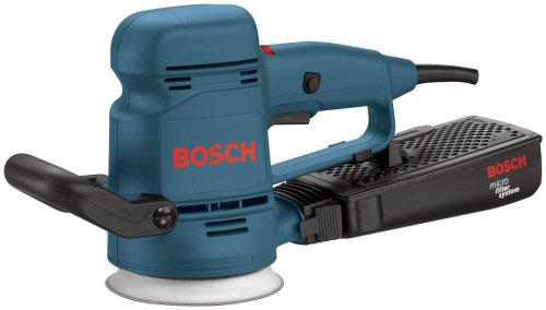 Bosch 3107DVS 3.3 Amp 5-Inch Random Orbit Sander/Polisher with Dust Canister