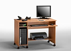 computertisch arbeitstisch kernbuche 100 cm ivo 3 k che haushalt. Black Bedroom Furniture Sets. Home Design Ideas