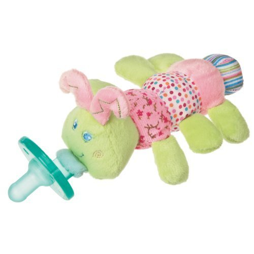 Mary Meyer Wubbanub Plush Pacifier, Cutsie Caterpillar Color: Cutsie Caterpillar NewBorn, Kid, Child, Childern, Infant, Baby