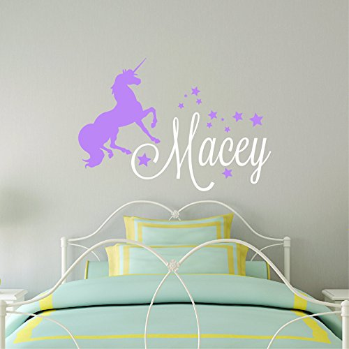 Girls-Unicorn-Wall-Decal-Personalized-Name-Wall-Sticker