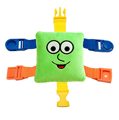 BUCKLE-TOY-Mini-Buster-Toddler-Early-Learning-Basic-Life-Skills-Childrens-Plush-Travel-Activity
