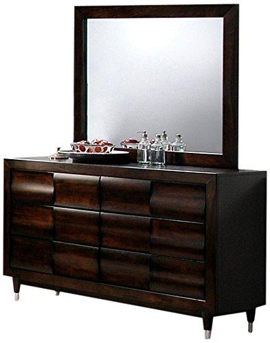 Global Furniture Hampton Dresser, Antique Mahogany