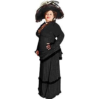women 39 s plus size victorian black theater dress at amazon