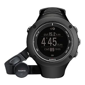 Suunto Ambit2 R Black - Reloj con GPS integrado, optimizado para carrera (incluye monitor de ritmo cardiaco)