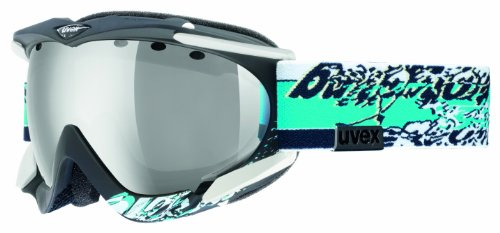 Skibrille Uvex Apache Pro viele Farben zur Auswahl, Farbe:black/blue mat;Gr&#246;&#223;e:one size