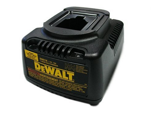 DEWALT DW9116 7.2-Volt to 18-Volt Pod Style 1 Hour Battery Charger