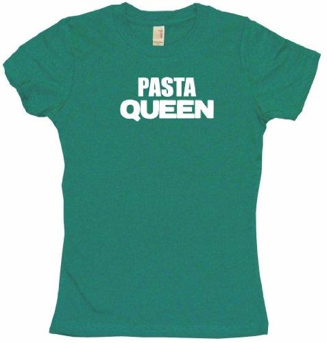 Pasta Queen Women'S Tee Shirt Large-Kelly Green Babydoll